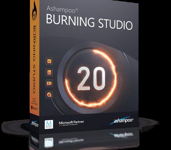 Ashampoo Burning Studio Crack v23.2.8 + Keygen [2021] Free Download